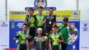 Balap sepeda jatim juara di Jawa Barat