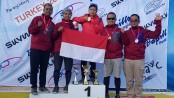Rika dan Jafro juara di Turki