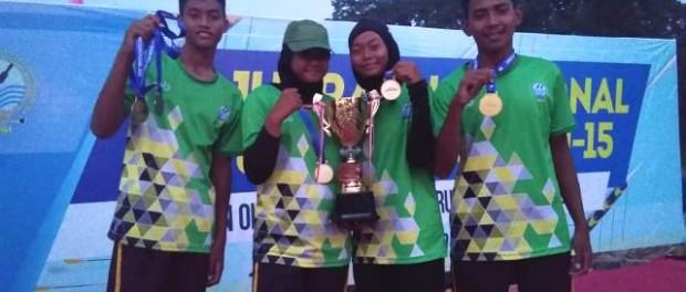 Atlet dayung jonior Jatim peraih medali Kejurnas Dayung Junior 2019, Jambi