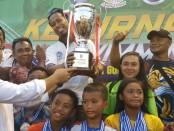 Surabaya Juara Umum Kejurnas Piala Gubernur