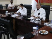 Ketua DPD RI saat rapat koordinasi bersama jajaran kementerian olahraga
